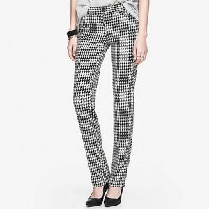 Express houndstooth columnist pant